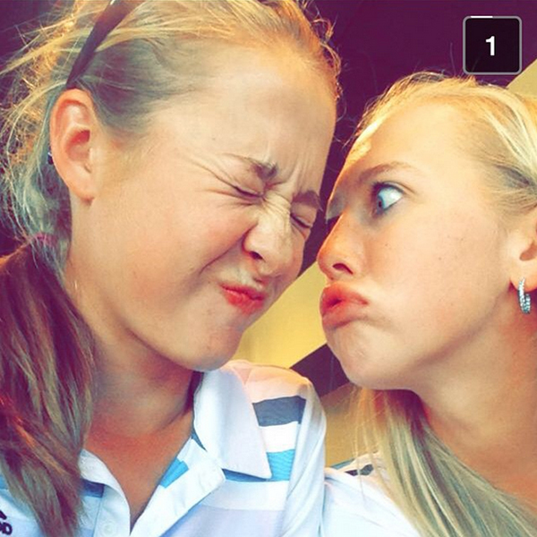 @thejessicakorda Less attractive picture but describes us amazingly! #lovemyyoungertwin #doubletrouble