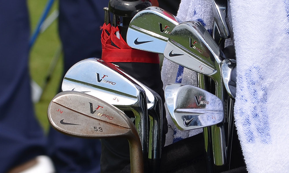 Jhonattan Vegas uses Nike VR Pro Forged blade irons and VR Pro Forged wedges.
