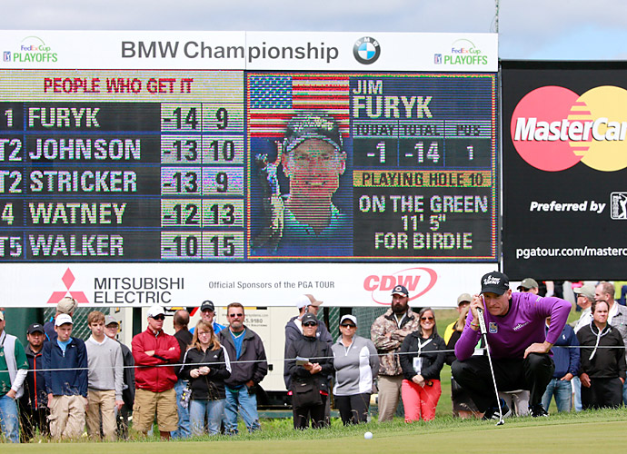Furyk has not had a victory since winning the Tour Championship and FedEx Cup in 2010.
