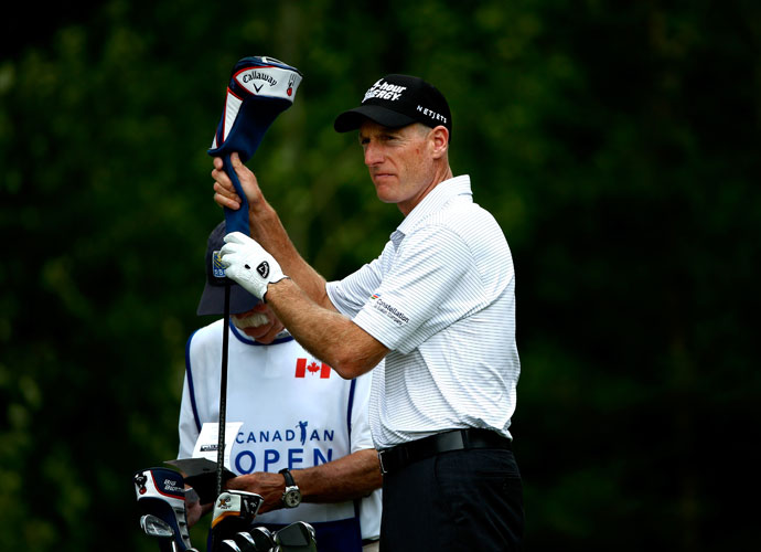 Jim Furyk won the Canadian Open in 2006 and 2007.