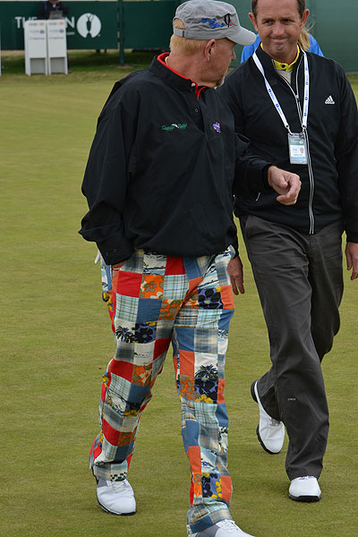 John Daly won the Open Championship in 1995. These pants weren't fashionable then either.