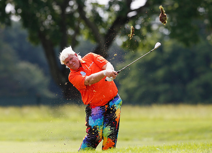Two-time major champion John Daly is in the field this week.