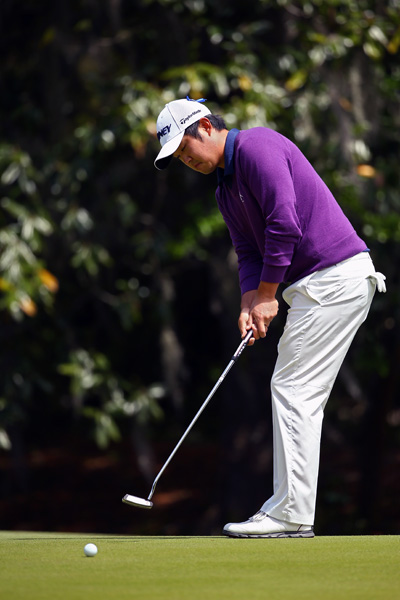 John Huh, shot a 3-under 8 to finish T3 with Martin.