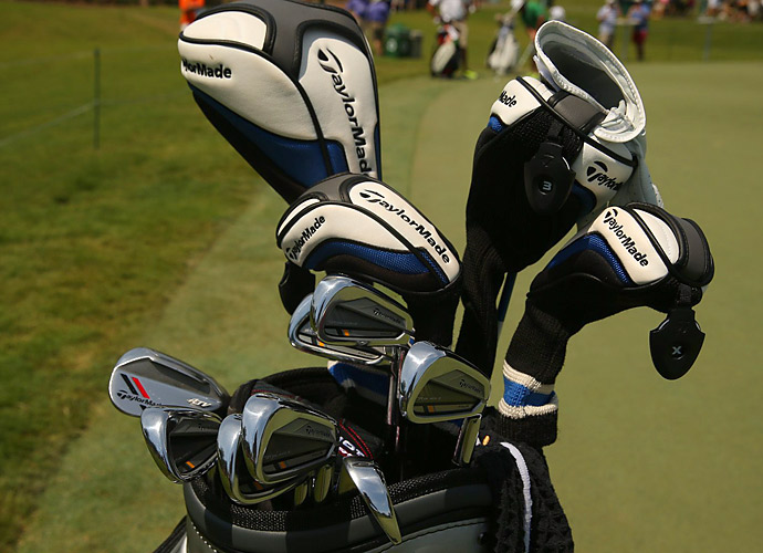 John Huh uses TaylorMade ATV wedges.