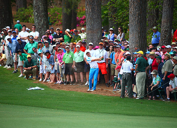 Jonas Blixt battled all day to catch Watson and Spieth.
