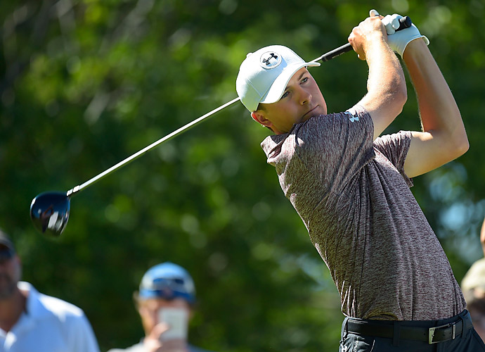 Spieth is well-positioned in the FedEx Cup despite not having a win this year.