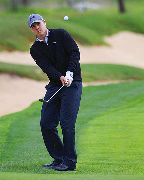 Jordan Spieth finished with a 71.