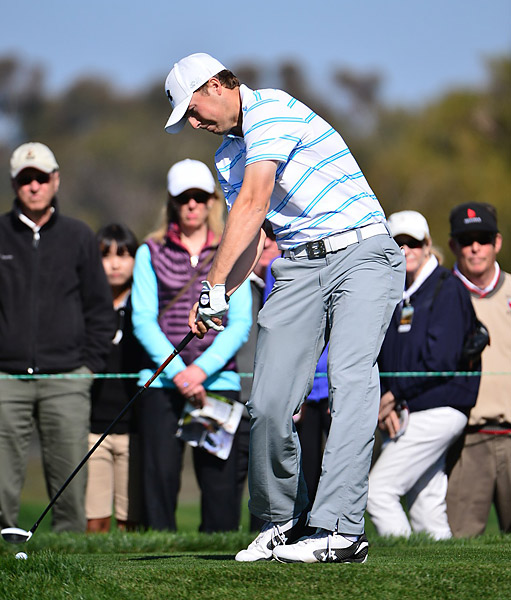 2013 Rookie of the Year Jordan Spieth had a solid 71 on the South.