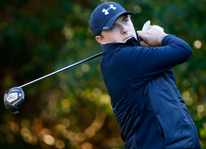Last year at Innisbrook, Jordan Spieth saved par on the final hole to finish T7, which gave him enough money for special temporary membership on the PGA Tour. In Thursday's opening round, he birdied four of his first seven holes but limped through back nine to finish T26 at even par.
