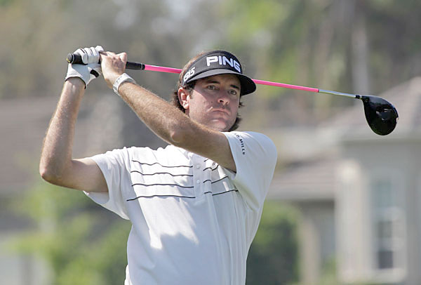 Bubba Watson Follow @BubbaWatson                            Not a deep thinker, to say the least, but Watson is very fun and interactive with his fans and fellow players.