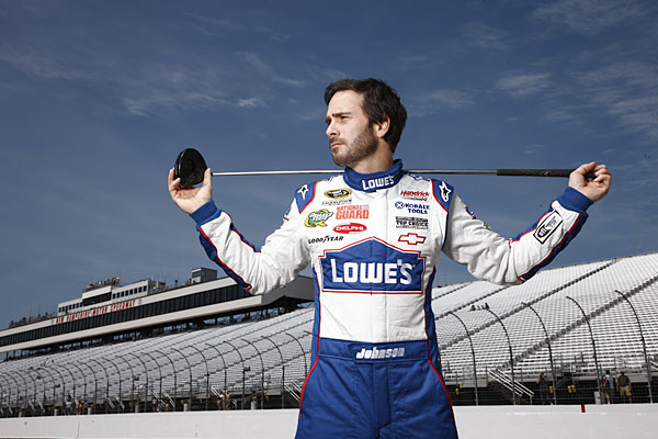 "Jimmie Johnson: Golf-Cart Surfing Accident                       NASCAR driver and golf nut Jimmie Johnson broke his wrist when he attempted to ""surf"" on the roof of a golf cart and fell off. He admitted to Sports Illustrated that a few adult beverages might have been involved in the incident."