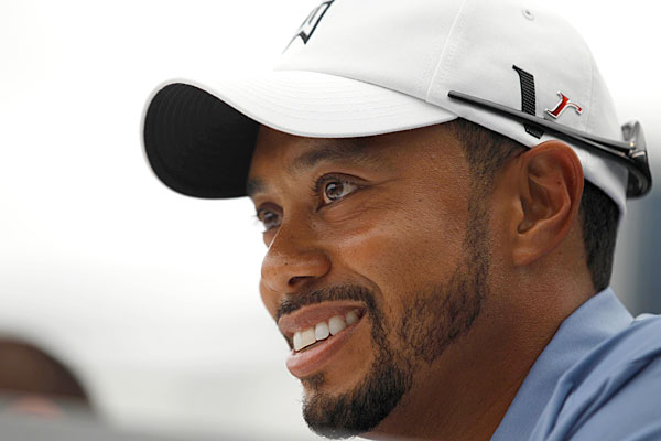 Tiger Woods Follow @TigerWoods                            The hobbled 14-time major champion usually keeps it all-business on Twitter, but he'll occasionally interact with fans and show a glimpse of his personality.