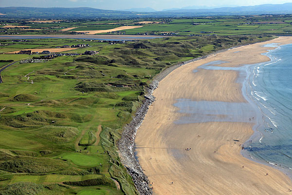 Ballybunion Golf Club (Ballybunion, Ireland) -- Who wouldn't want to see the pros take on some of the most imaginative course-contouring in the world? Site of the 2000 Irish Open, Ballybunion is ranked 17th in the world by GOLF Magazine.