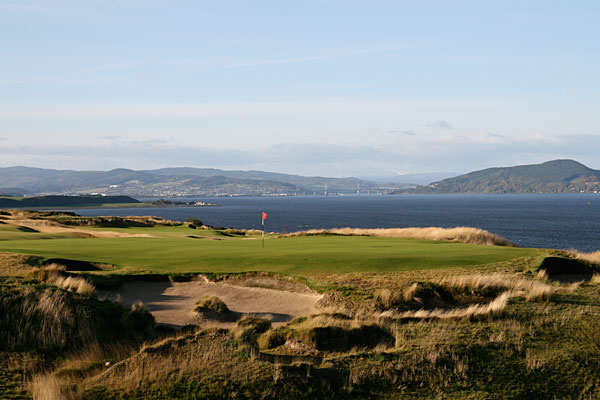 Castle Stuart Golf Links (Balnaglack Farmhouse, Scotland) -- This new links course hosted the Scottish Open in 2011 and 2012. A gorgeous setting belies the tough test offered from a layout created by Americans Mark Parsinen and Gil Hanse.