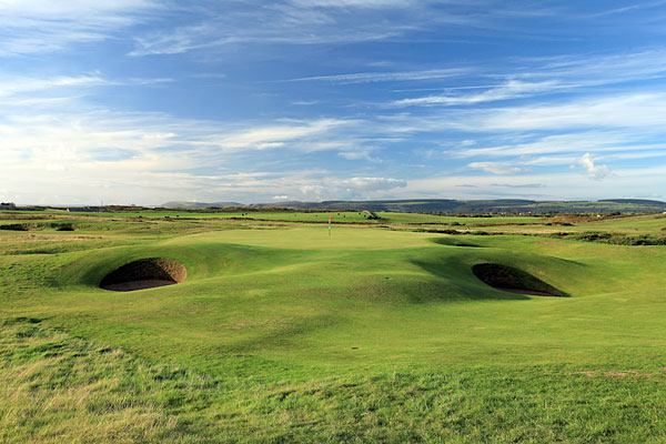 Royal Porthcawl (Porthcawl, Wales) -- The 1995 Walker Cup site where Tiger struggled with the formidable 18th hole would give Wales a second chance at glory after the 2010 rain-soaked Ryder Cup.