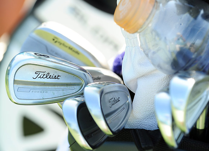 Justin Hicks is another Titleist MB Forged loyalist.