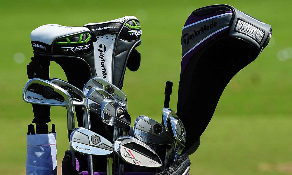 Justin Rose will use these TaylorMade Forged Tour Preferred MC long irons and Forged Tour Preferred MB mid- and short-irons this week at the Open.