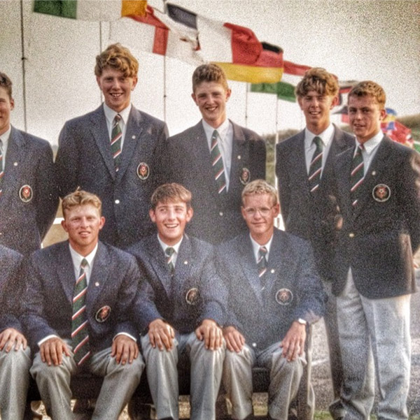 justinprose99 #TBT playing for England with @lukedonald Can anybody name the other players??