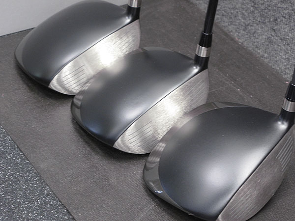 , having seen Lucas Glover and Stewart Cink both win majors using a Nike Sumo2 Tour driver, asked Nike reps to make him four to test. As he was hitting one, these sat waiting in the company's tour van.