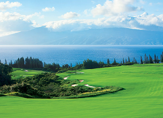 46. Kapalua Resort (Plantation), Maui, Hawaii, No. 18, par-5: If you've ever wanted to reach a 663-yard par-5 in two, here's your chance, thanks to this downhill-plunging Coore-Crenshaw creation that features a broad fairways slope and a speed slot into the green. Pacific panoramas add more icing to this distinctive cake, where it will take clever ground game prowess -- and avoiding the jungle that frames the fairway -- to post a red number.