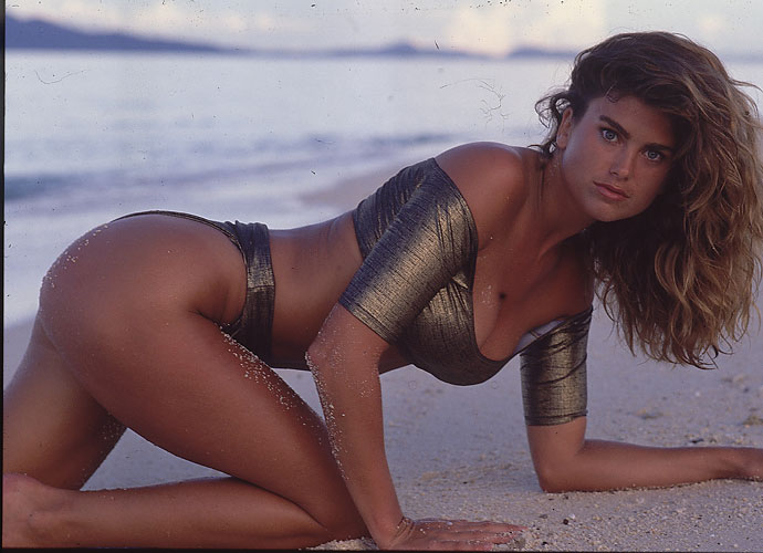 Kathy Ireland also appeared in the 1998 issue. She's appeared multiple times on the cover of the publication.