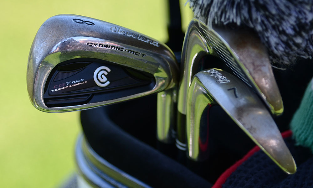 These are Keegan Bradley's Cleveland CG7 Tour irons.
