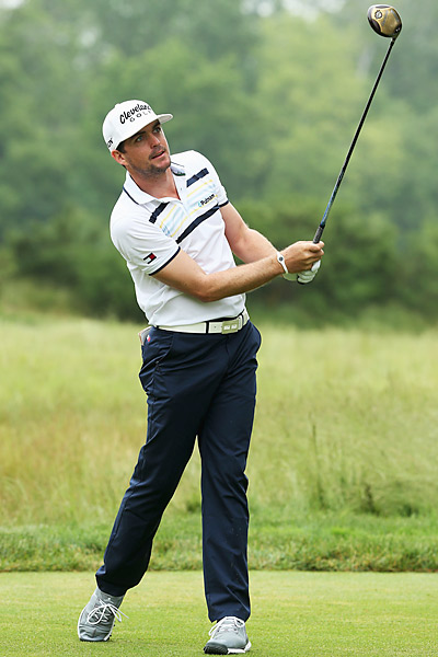 Keegan Bradley is looking for his second major victory this week.