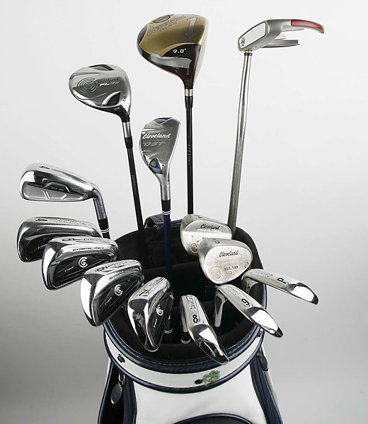 Check out the clubs that 2011 PGA Champion Keegan Bradley is playing on the PGA Tour.