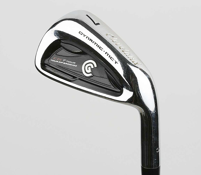 IRONS: Cleveland CG7 TC (4-PW) with True Temper Dynamic Gold shafts