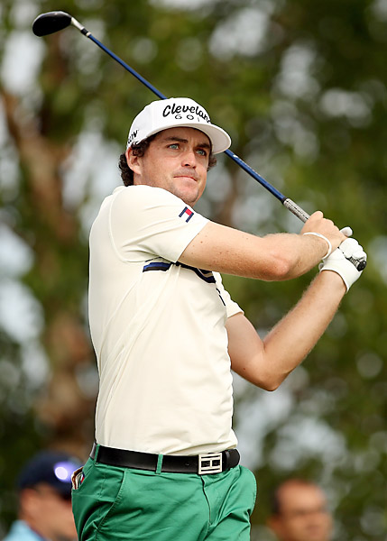 Fowler's round was bested only by Keegan Bradley's course-record 63.