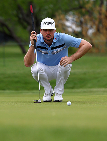 Keegan Bradley put together one of the rounds of the year Thursday, firing a 10-under 60.