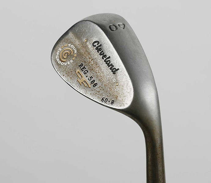 WEDGES: Cleveland 588 PF RTX (54°, bent to 53°; 60°) with True Temper Dynamic Gold shafts