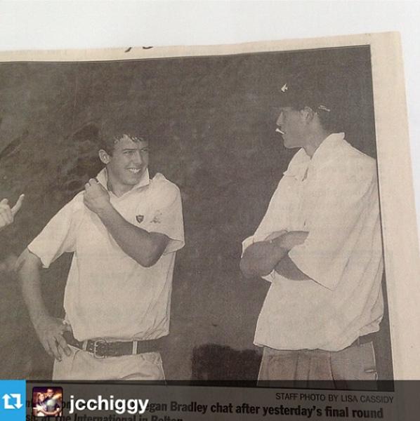 @keeganbradley1 #Repost from @jcchiggy with @repostapp --- Jonny whys ur shirt so tight? #tbt @keeganbradley1