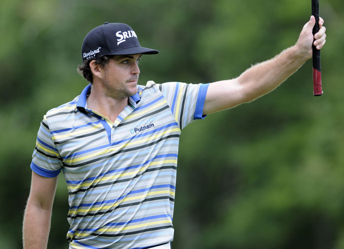 Round 1                             Keegan Bradley played bogey-free golf on the way to a 6-under 65 in the first round.