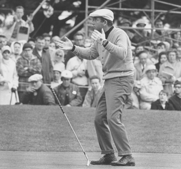 """This was 1966 — I'd just sunk the winning putt at the Lucky International Open at Harding Park (in San Francisco), my last win as a professional on the course where I learned to play. I had a short putt there and I thought I missed it, but it curled into the cup somehow. On the par-3 eighth that day, I hit a 3-iron and knocked it in for a one. Suddenly, this lady runs out of the gallery and grabs the ball out of the hole. The amateur I was playing with said, 'Who is that (expletive) person getting that ball?' I looked closely, and I said, 'If I'm not mistaken, I think that's my mother.' She got a huge round of applause. A bigger reaction than I got for making the ace!"""