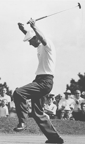 """This was after my first win as a professional, at St. Paul in 1957. In 1956, after I lost the Masters as an amateur, everybody  was calling me a choker and this and that. I had won the California State Amateur in September at Pebble Beach and I got tired of people telling me what I couldn't do. At the time, there was no money in golf. In 1958, I won four tournaments and finished in the top-10 15 times. I made $49,500. Someone did an article recently and they calculated that if you took those prices today it would have been $8 million in one year. Someone said to me, 'Well, $49,500 went a long way then.' Not as far as $8 million goes today. I could have made more money if I'd stayed on selling cars in San Francisco. But I loved the competition. I told my dad, 'I'm going to let my clubs do the work.'"""
