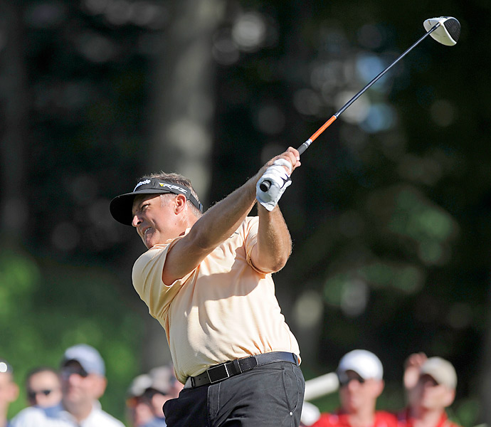 Tournament: Travelers Championship                       Champion: Ken Duke                       Driver: TaylorMade RBZ Stage 2