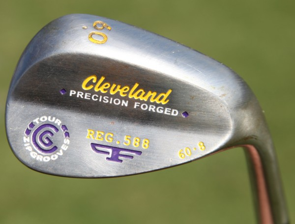 Former LSU golfer Ken Looper shot 62 to Monday qualify for the Zurich Classic this year using this 60° Cleveland wedge.