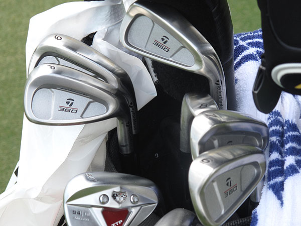 chose not to use the latest iron technology at The Players, instead he'll use the classic TaylorMade 360 irons.