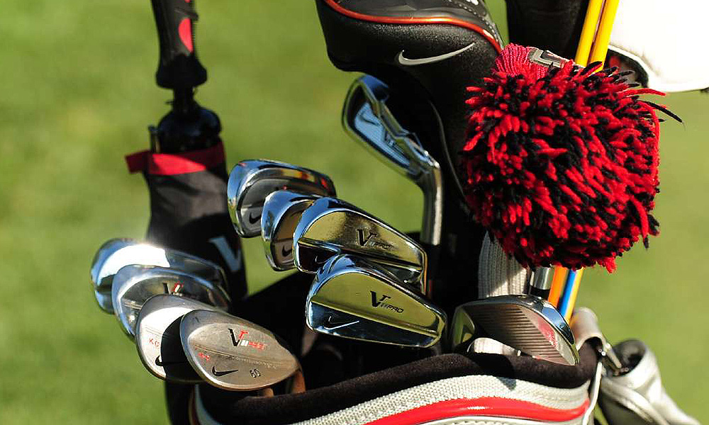 Kevin Chappell uses a set of Nike's VR Pro Combo irons, along with a VR_S Forged long iron and VR Pro wedges.