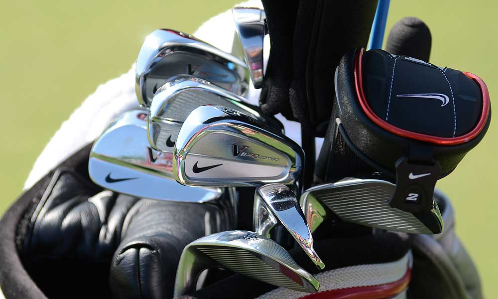Kevin Chappell uses Nike VR Pro Combo irons.