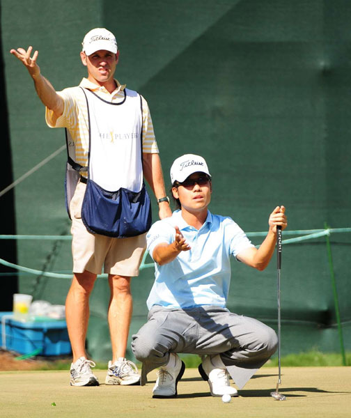 Kevin Na                                               He's young, talented... and slow. In and of itself, that wouldn't be a problem, but unlike Ben Crane, insular Na has been more defiant than contrite about his pokey playing habits. Slow and proud is not a winning combination on Tour.