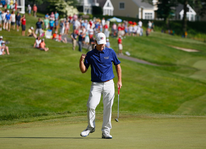"""""""It's probably my favorite nine holes on the PGA Tour,"""" Streelman said after his round."""