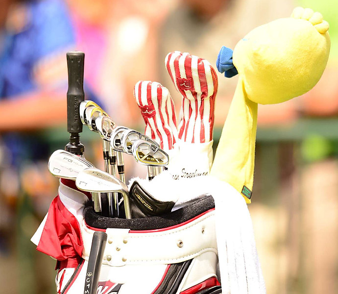 Kevin Streelman is hoping his Wilson FG Tour v2 irons lead him to a solid finish at the PGA.