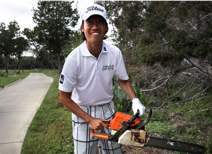 Kevin Na returned to the scene of the crime the next year to tape a Golf Channel segment. He re-played the hole using only a 6-iron and carded a 5.