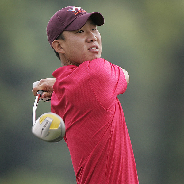 Anthony Kim Has a Finishing Kick                       A Sunday 65 — the low round of the day — pushed the PGA Tour rookie Anthony Kim from T27 to T3, but his outstanding score should not come as a shock. The former Oklahoma standout has a pre-cut stroke average of 71.00, but he averages 68.71 in the third round and 69.86 in the fourth. Kim's performance at the Zurich Classic earned him his third top 10 finish of the season.