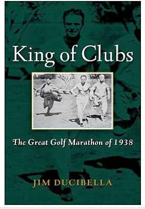 King of Clubs: The Great Golf Marathon of 1938                           $24.95, amazon.com                           The story of J. Smith Ferebee and Fred Tuerk's winner-take-all, cross-country marathon golf challenge that took place during 1938.