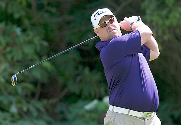 Kris Blanks grabbed a one-shot lead after an opening 67.