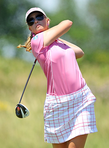 Paula Creamer tied for seventh after a final-round 74.