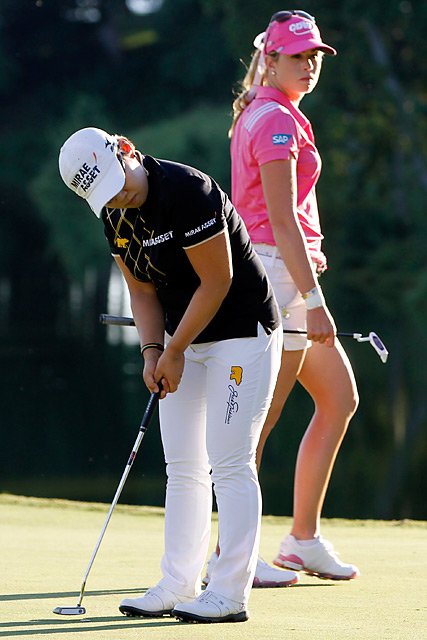 Shin also had several birdie putts that could've won the event.